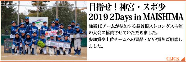目指せ!神宮・スポ少 2019 2Days in MAISHIMA