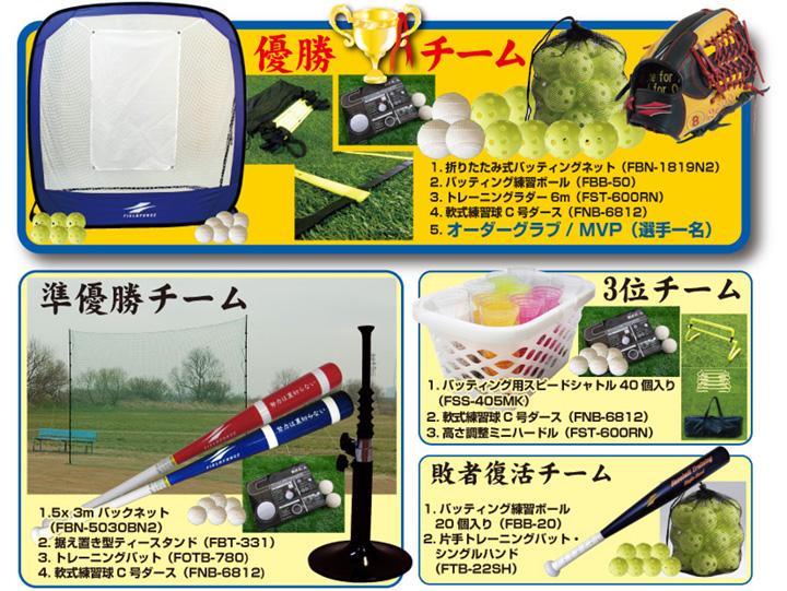 勝利者へのご褒美 〜フィールドフォースカップの数々の商品たち〜