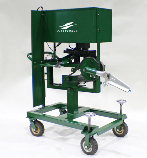 小型アーム式ピッチングマシン
