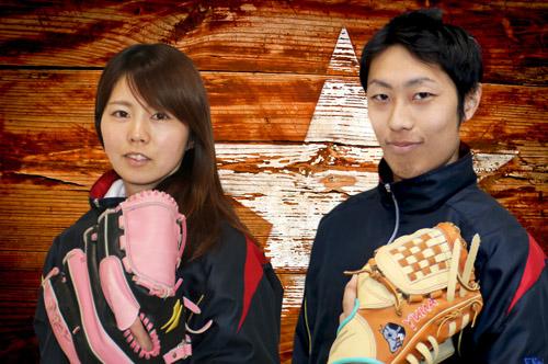 スタッフの成田コーチと荒井コーチ