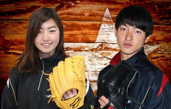 スタッフの鎌田コーチと小平コーチ