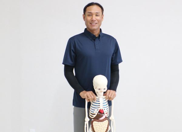 骨格と筋肉のスペシャリスト、渡辺清久さん